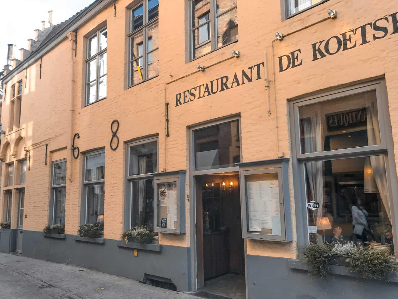 Restaurant in Ghent