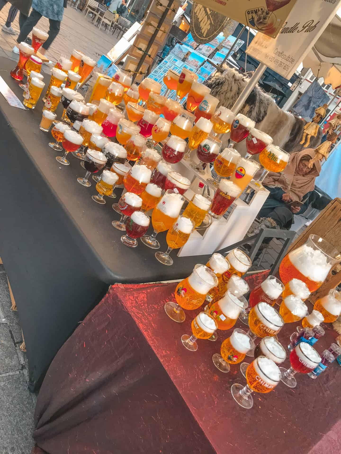 Beer Market in Ghent