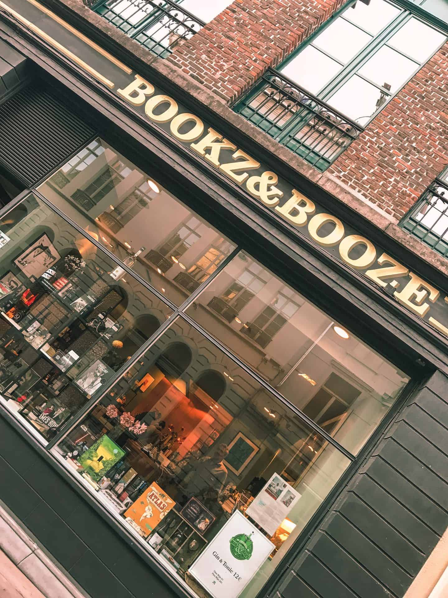 Bookz and Booze in Ghent