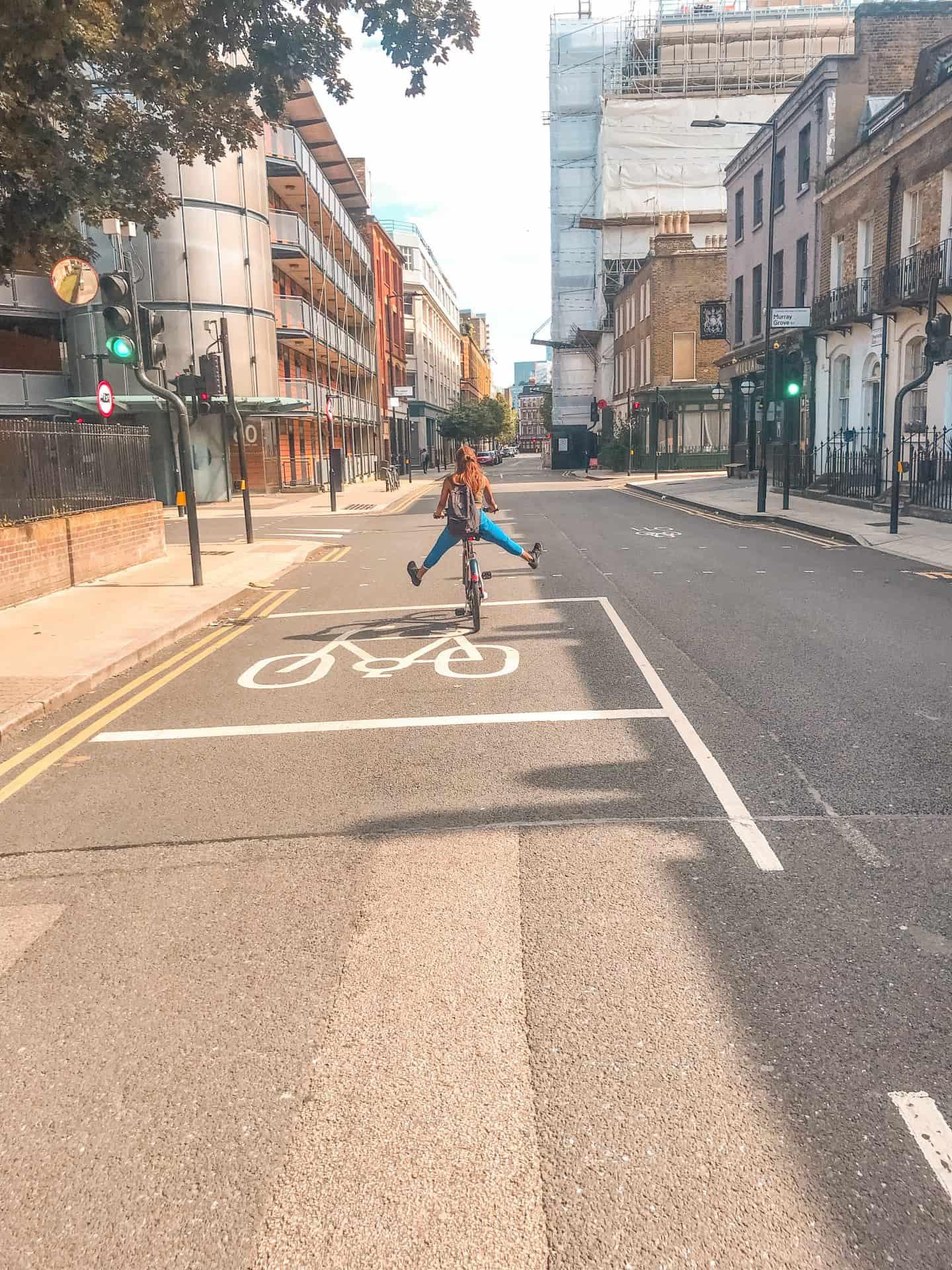 Boris Bike in London