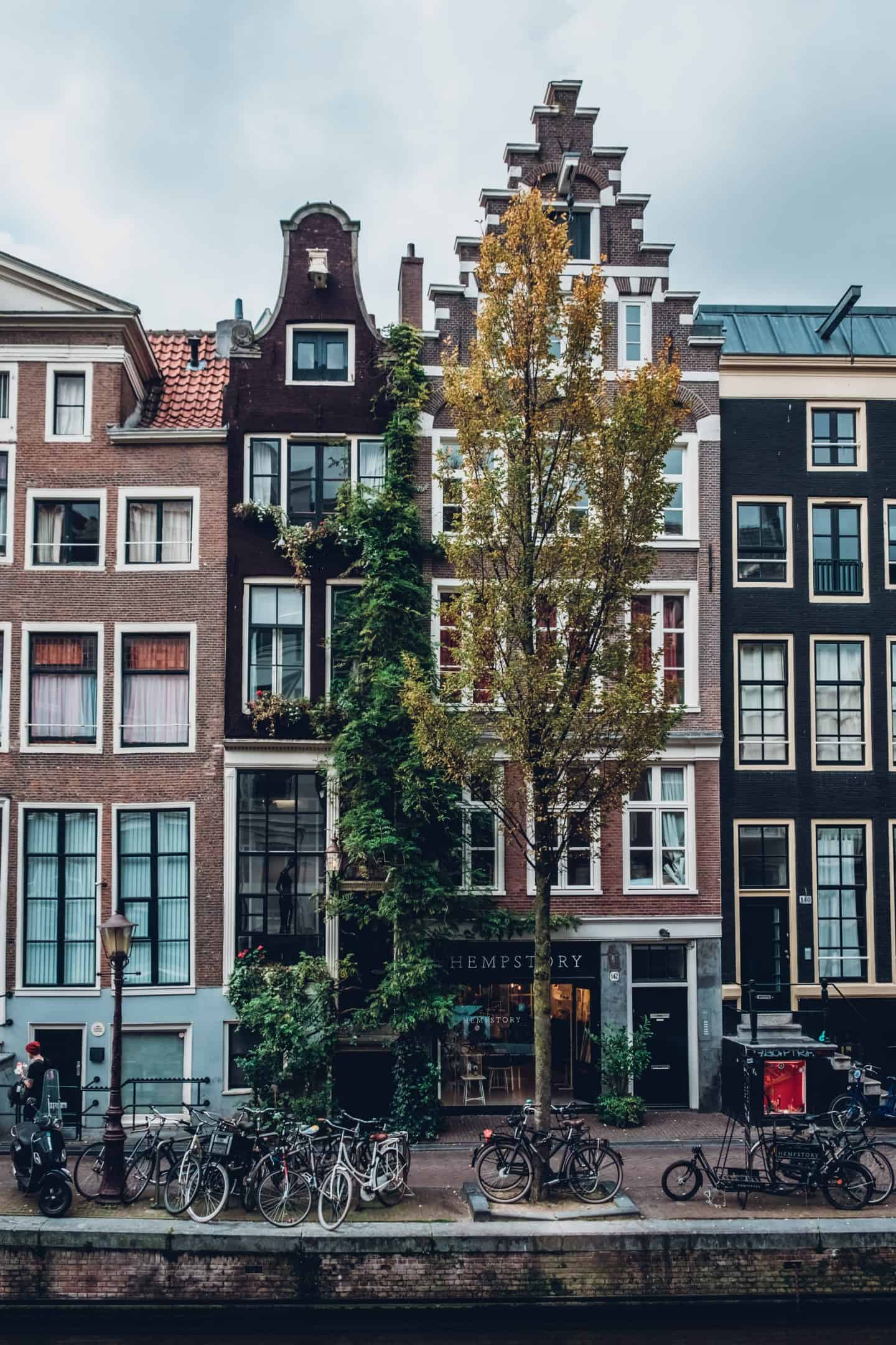 Amsterdam in Europe