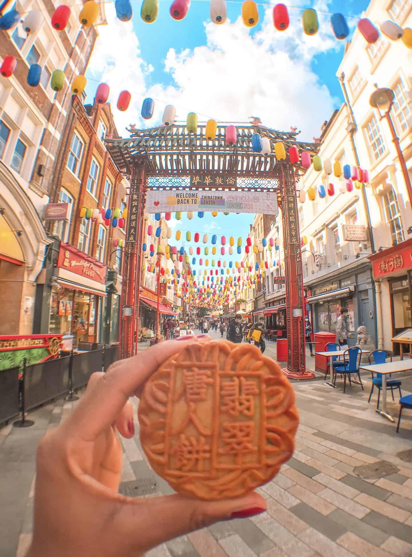 Mooncake Chinatown London
