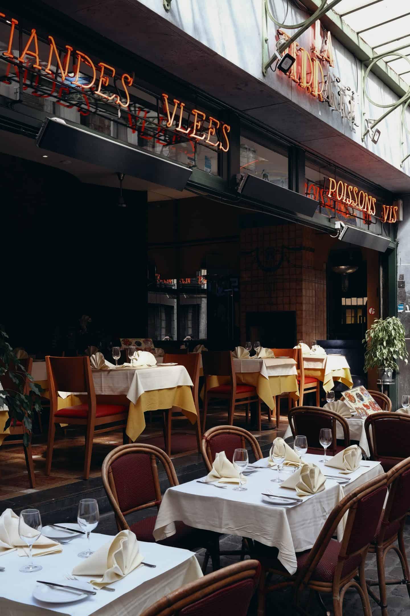 Paris Cafe in Europe