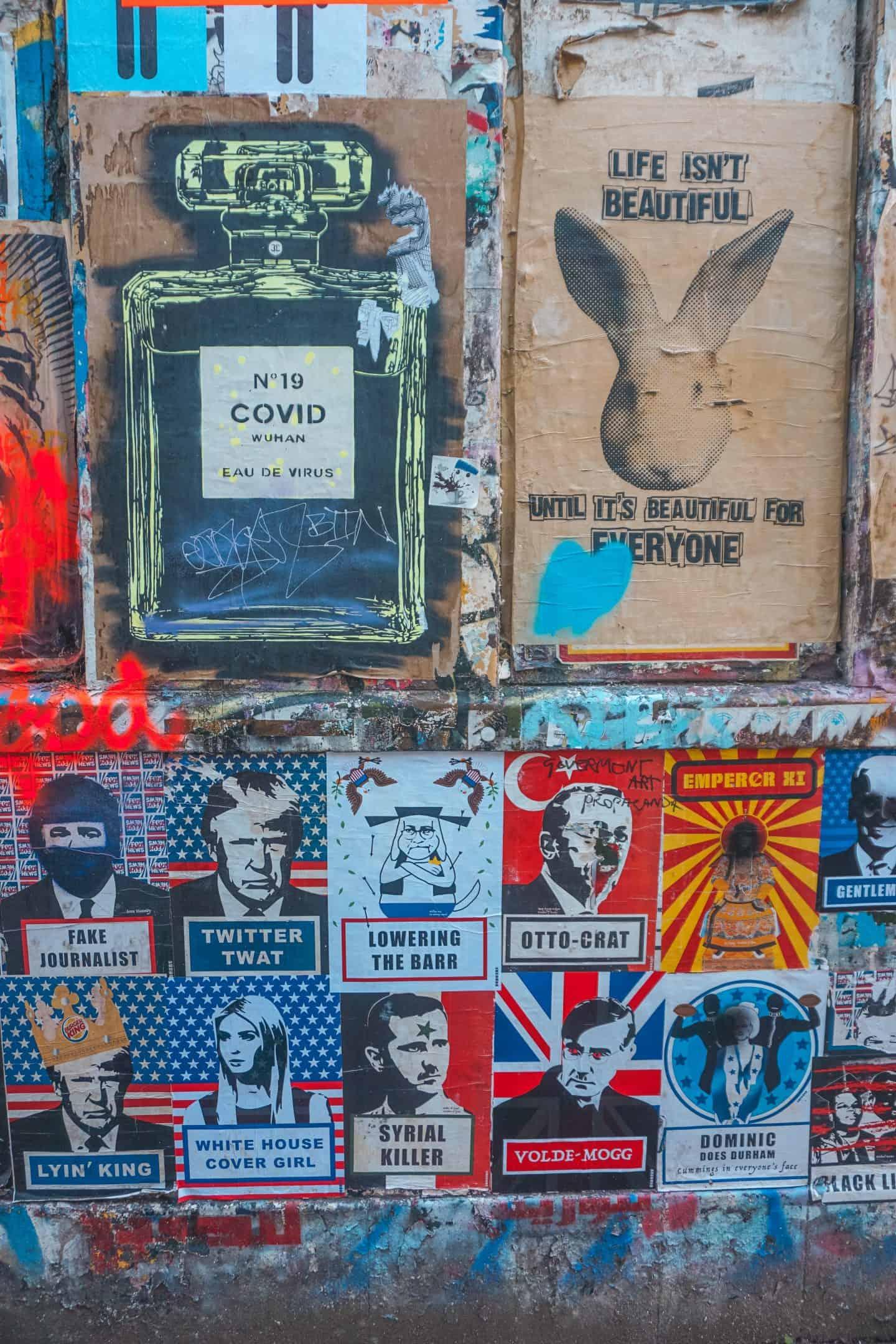 Wall-of-street-art-brick-lane