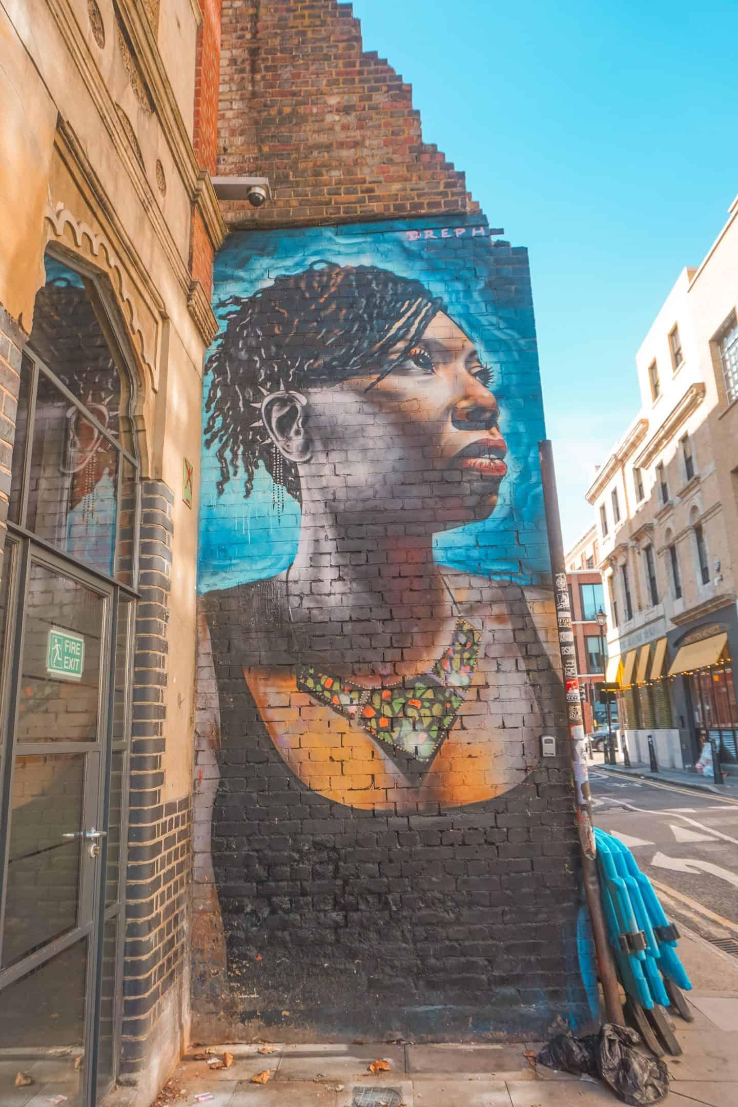Black Woman on Fashion Street