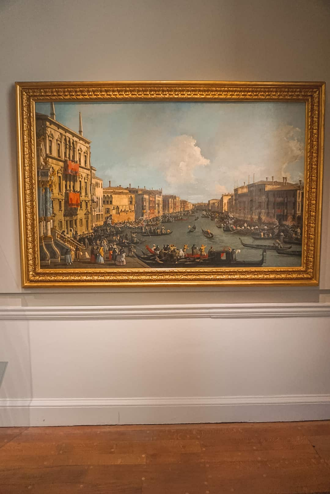 Painting at National Maritime Museum