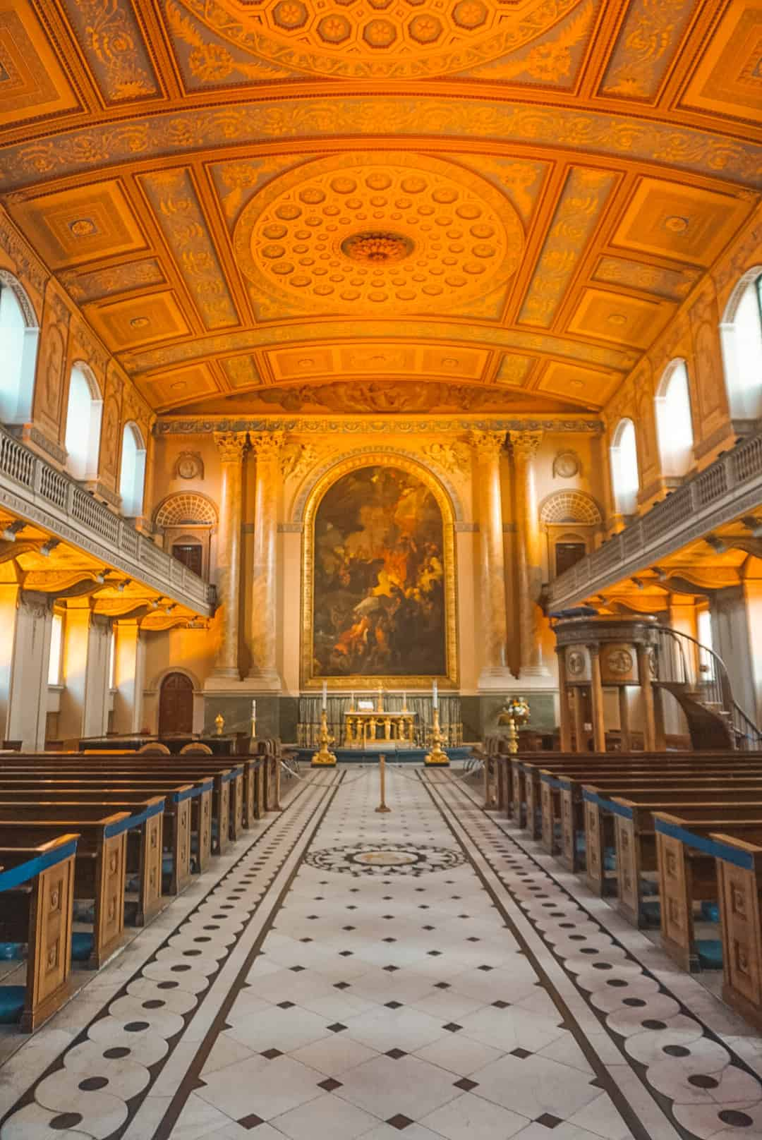 Chapel at  Old Royal Naval College