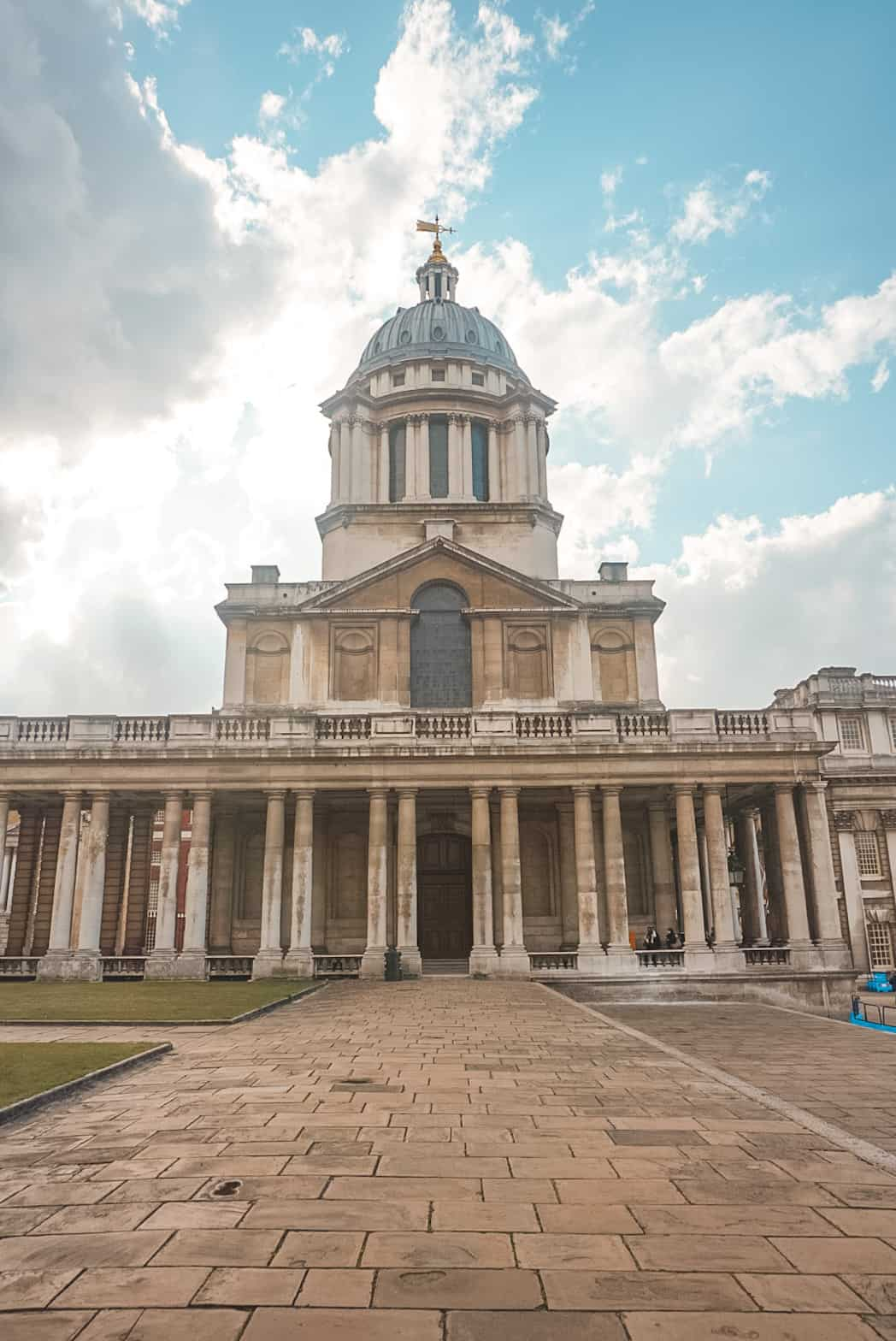 Building at Old Royal Naval College, Greenwich London