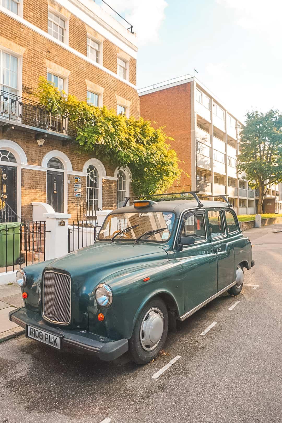 Car in Greenwich