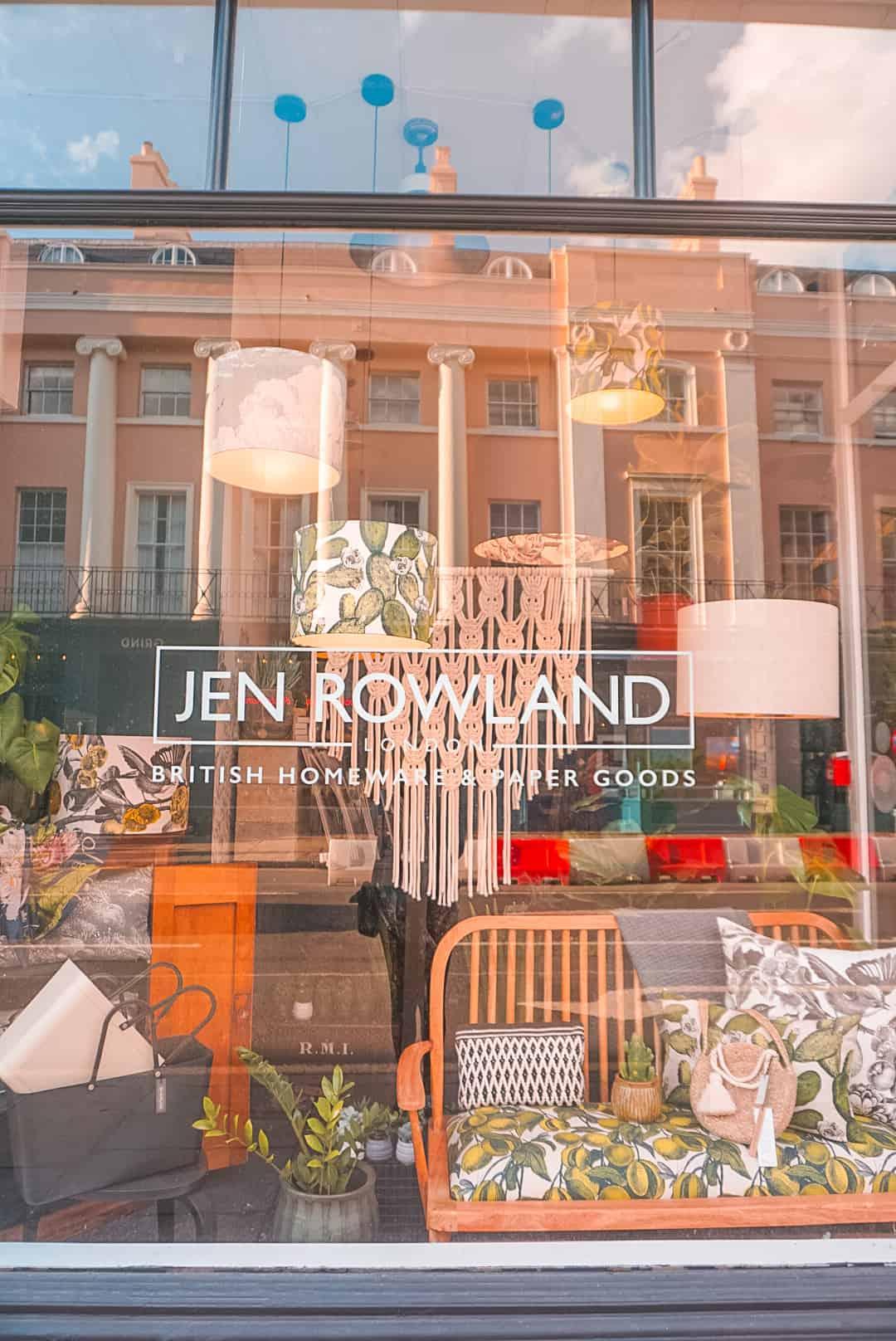 Shop Windows in Greenwich
