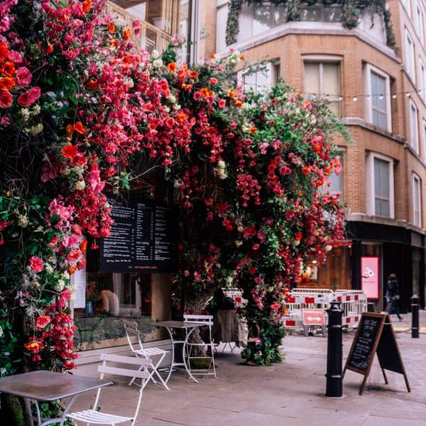 Floral Street and Floral Court in Covent Garden