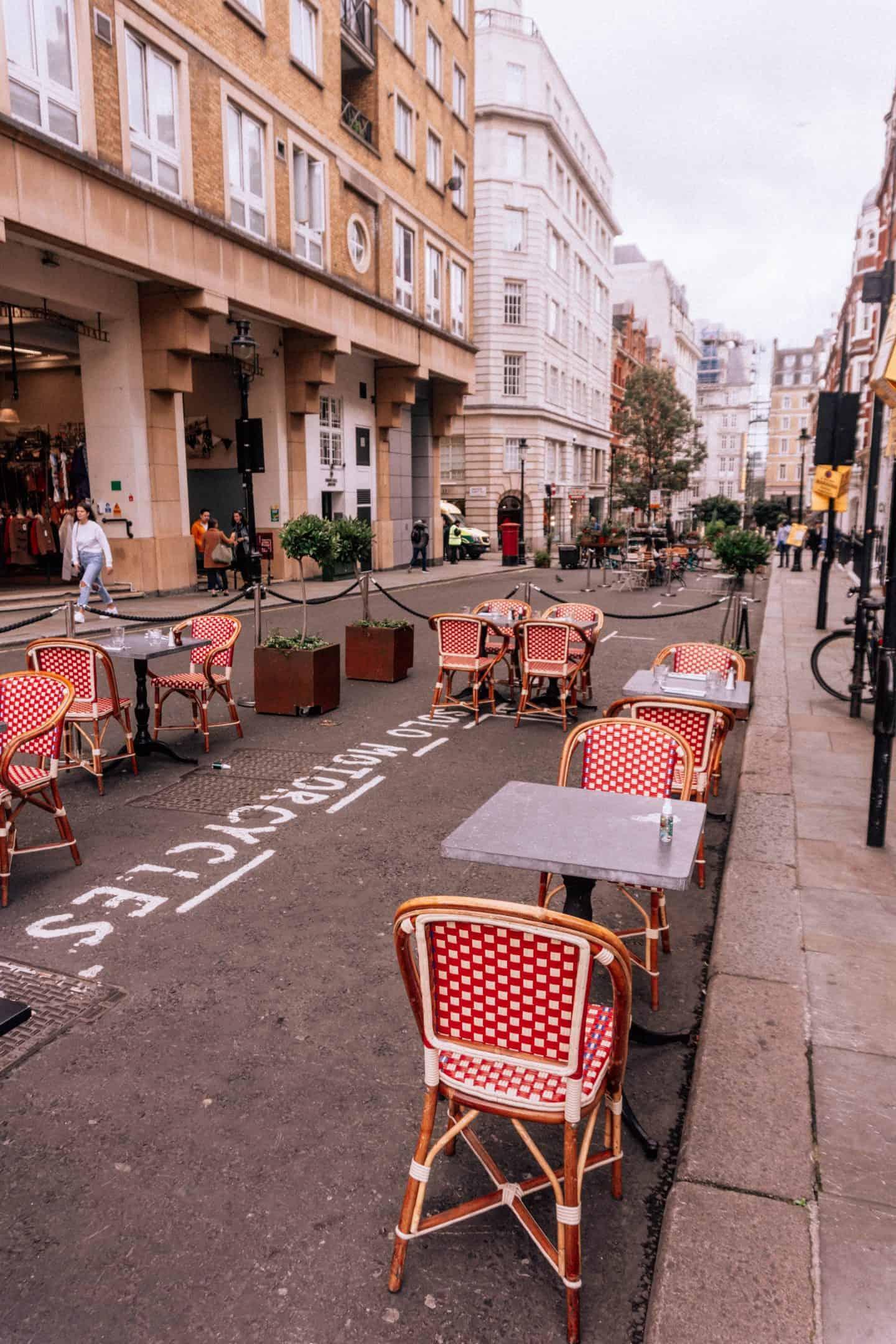 Maiden Court Covent Garden