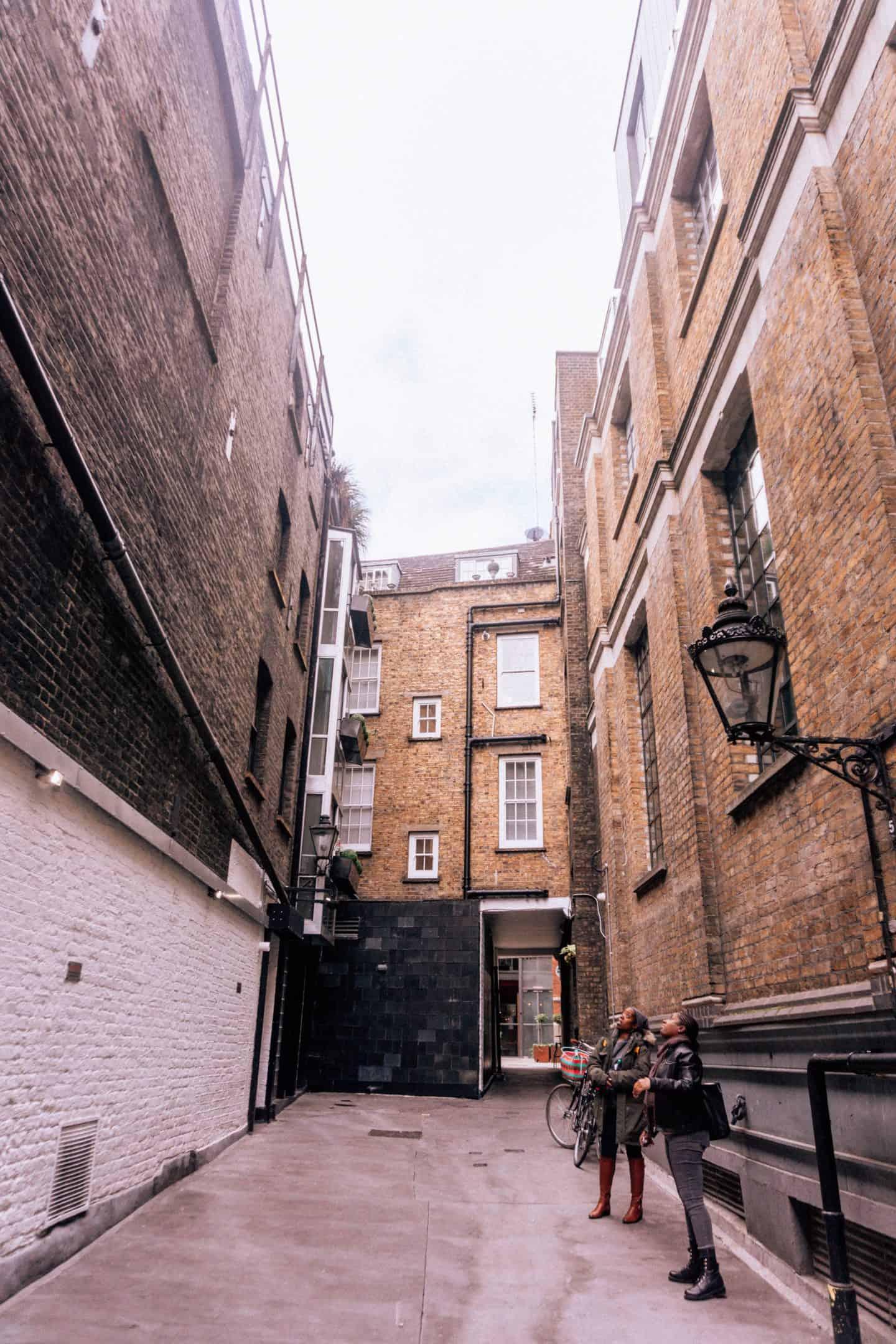 Bull Inn Court Covent Garden