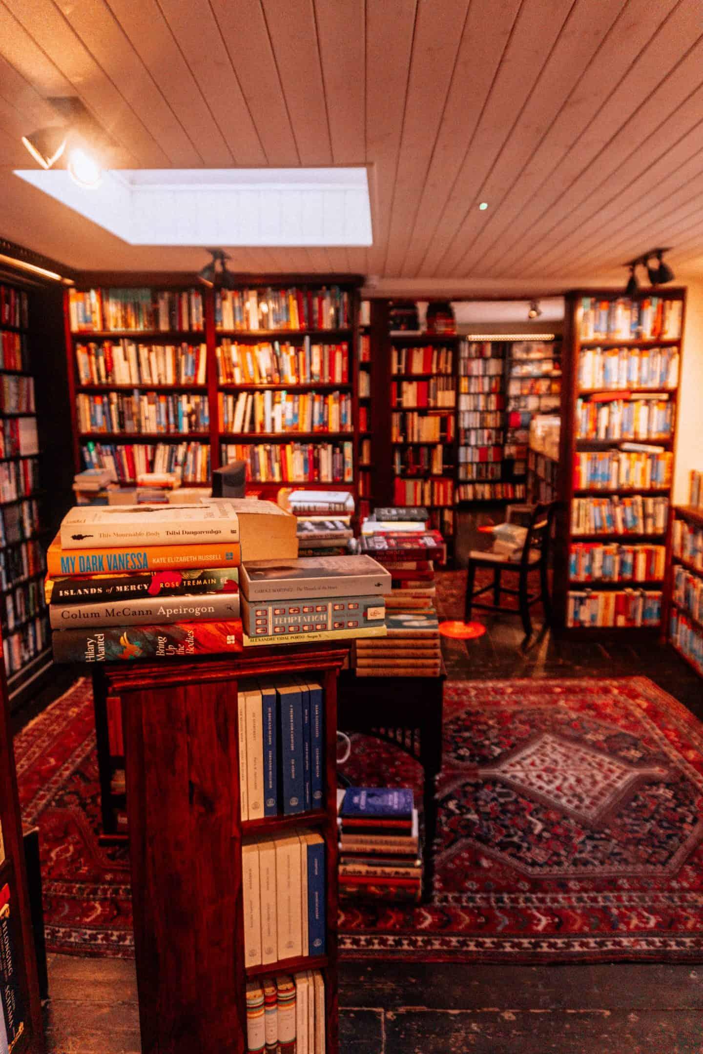 John Sandoe's Bookstore Inside