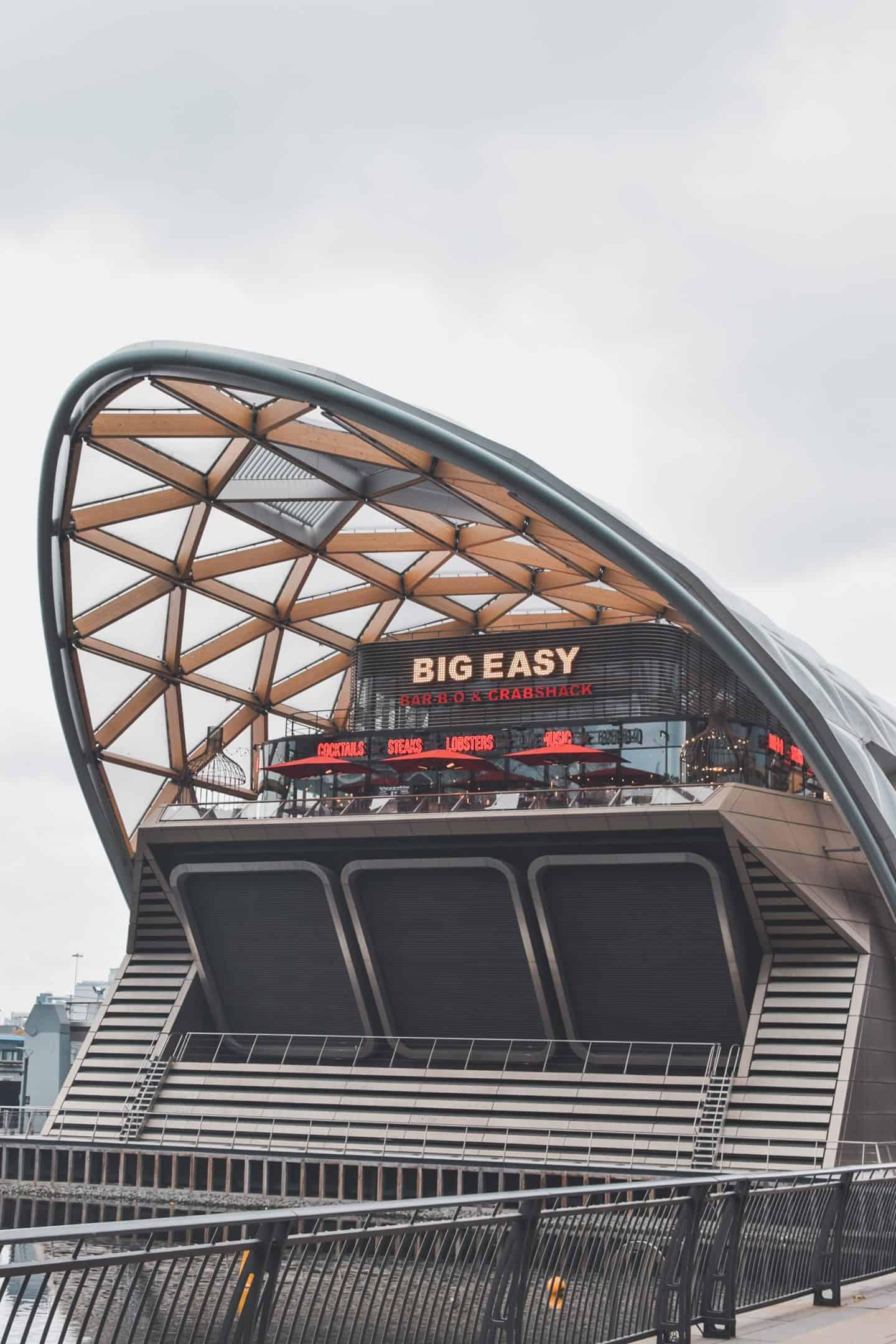 Outside-of-big-easy-Canary-Wharf