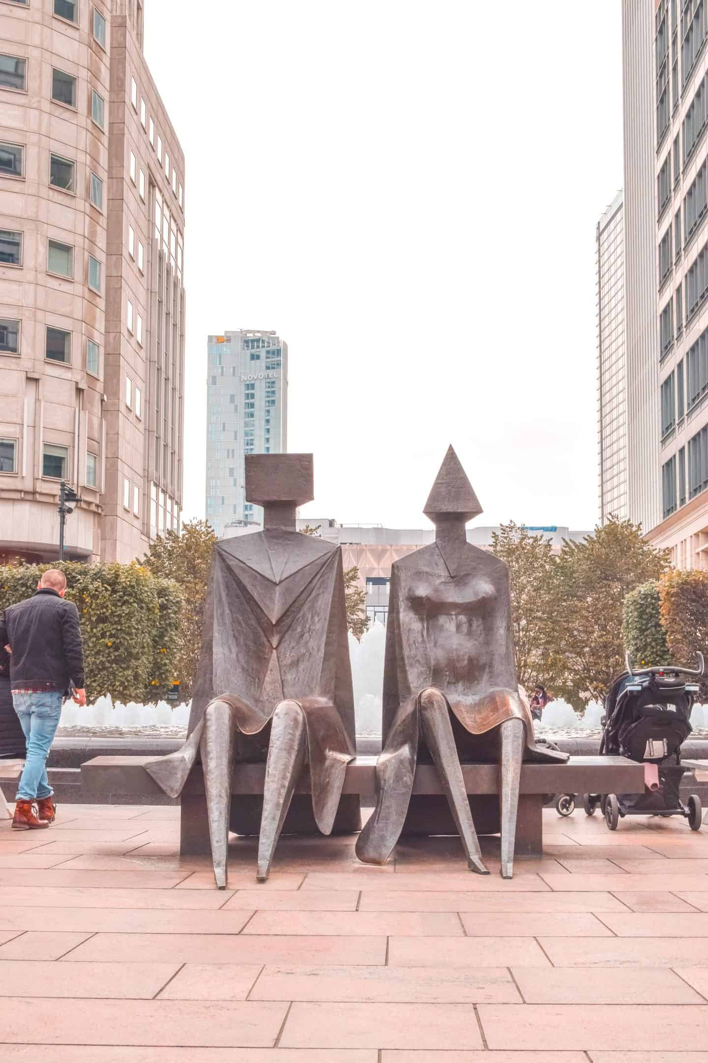 Art in Canary Wharf: Places to go