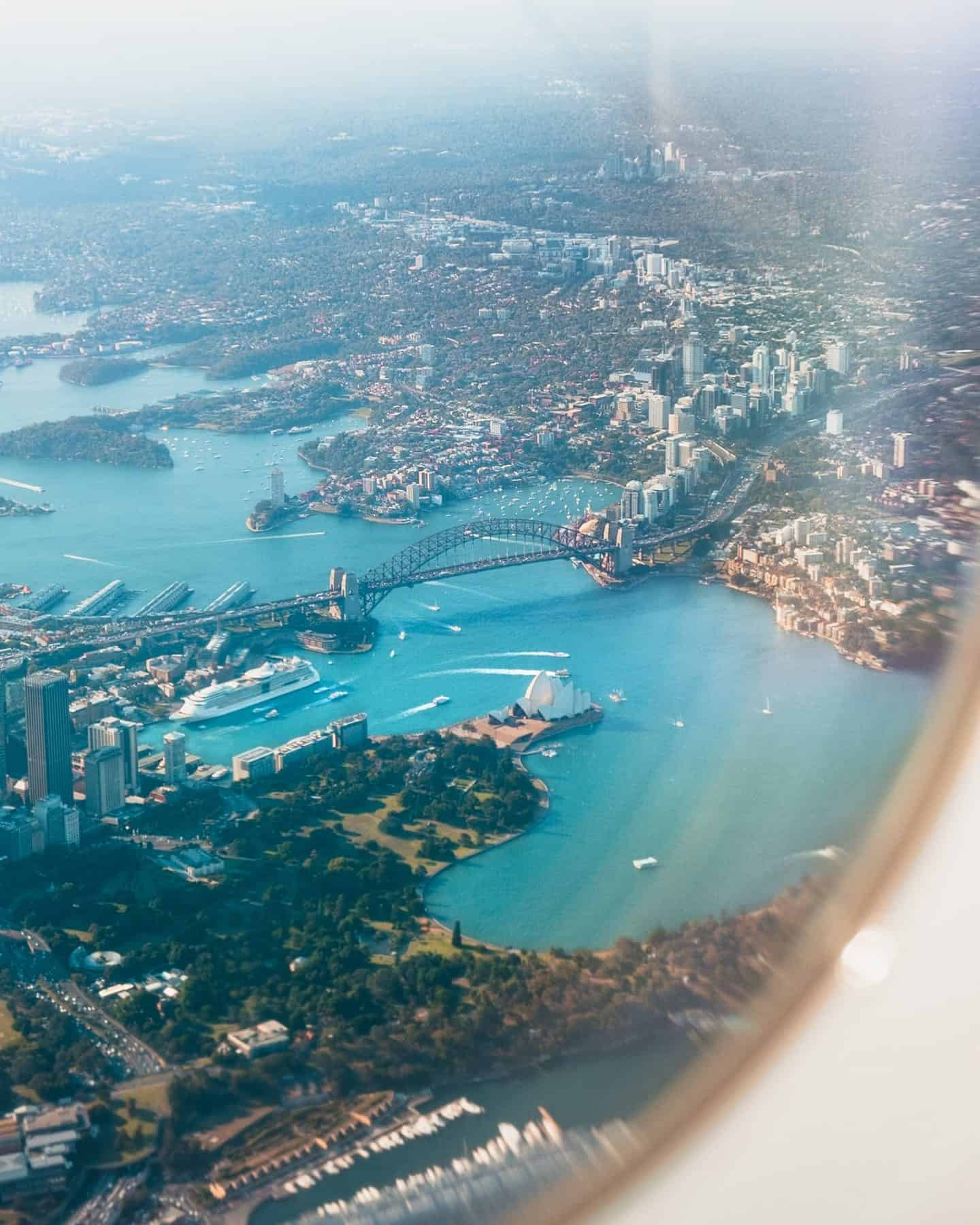 Traveling Abroad Plane
