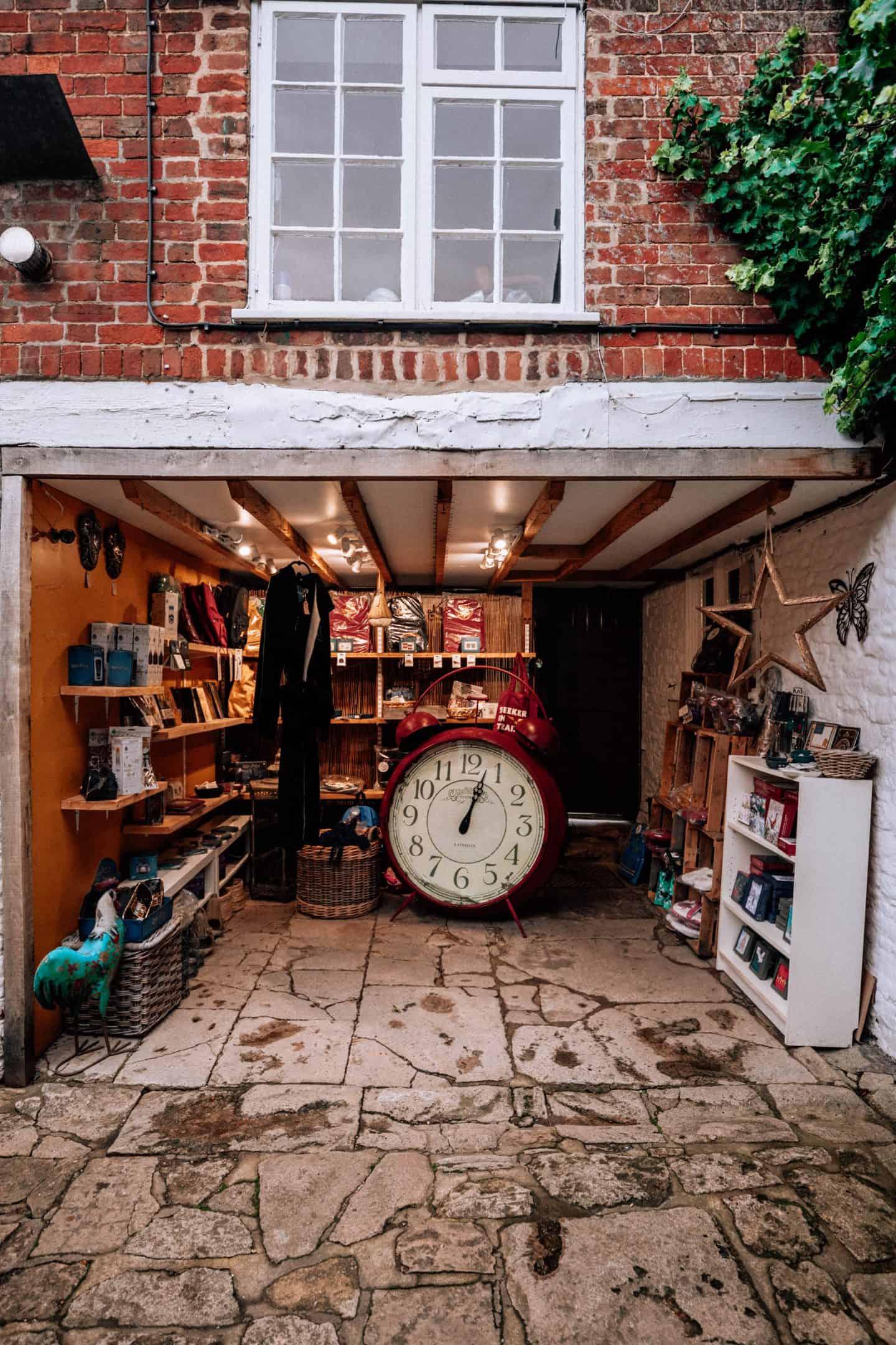 Harry Potter Village Clock in Lacock