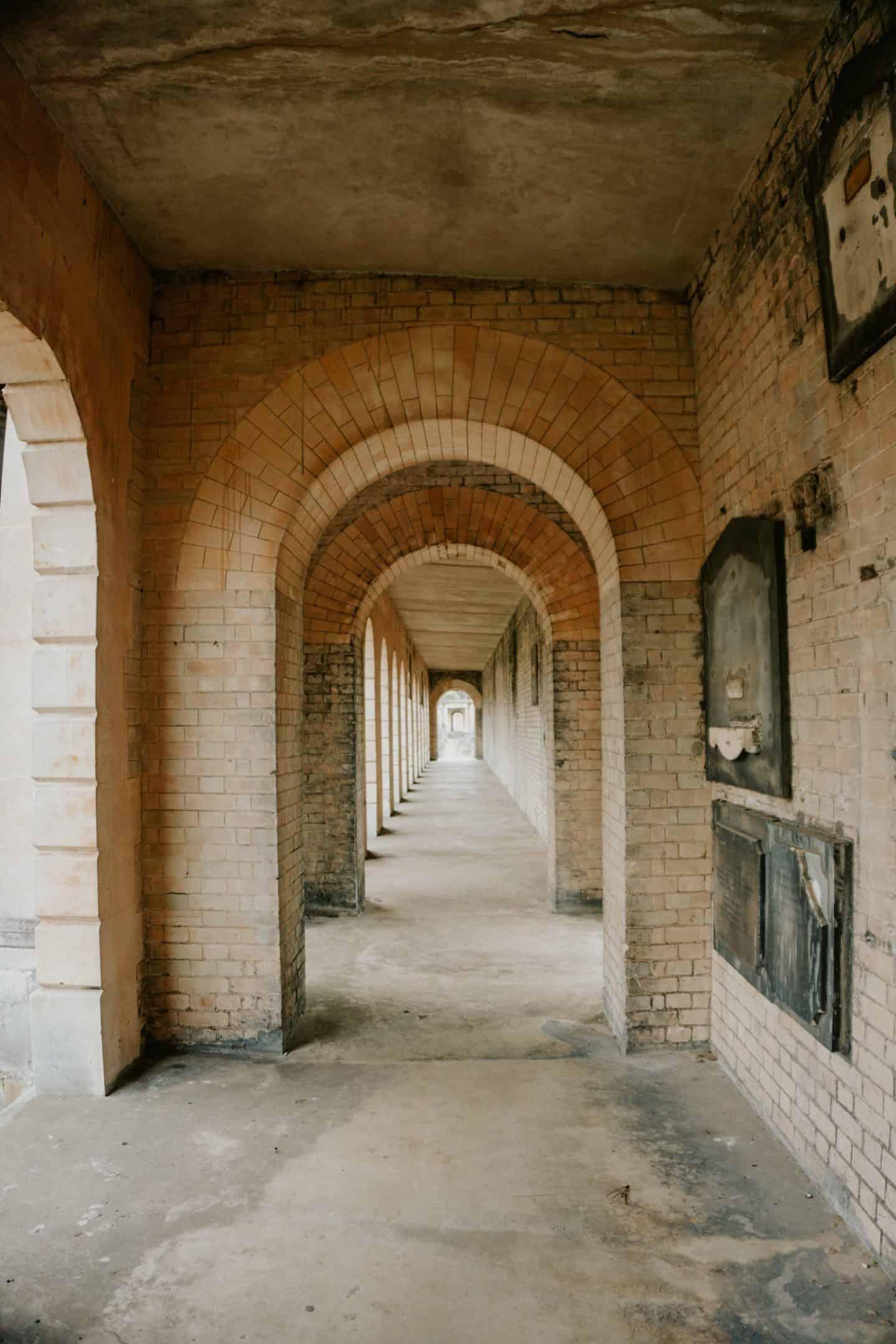 Walkway at Brompton Cemetery London