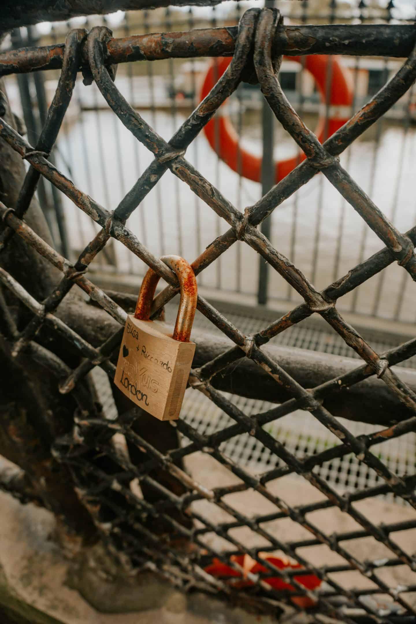Locks at Chelsea Embankment