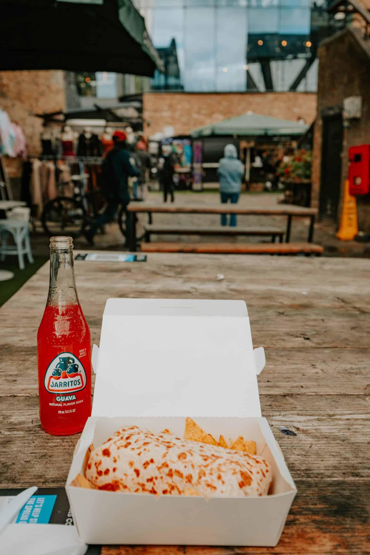 Burrito at Camden Market