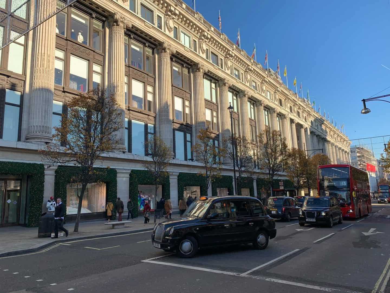 Selfridges London Love Actually Filming Location
