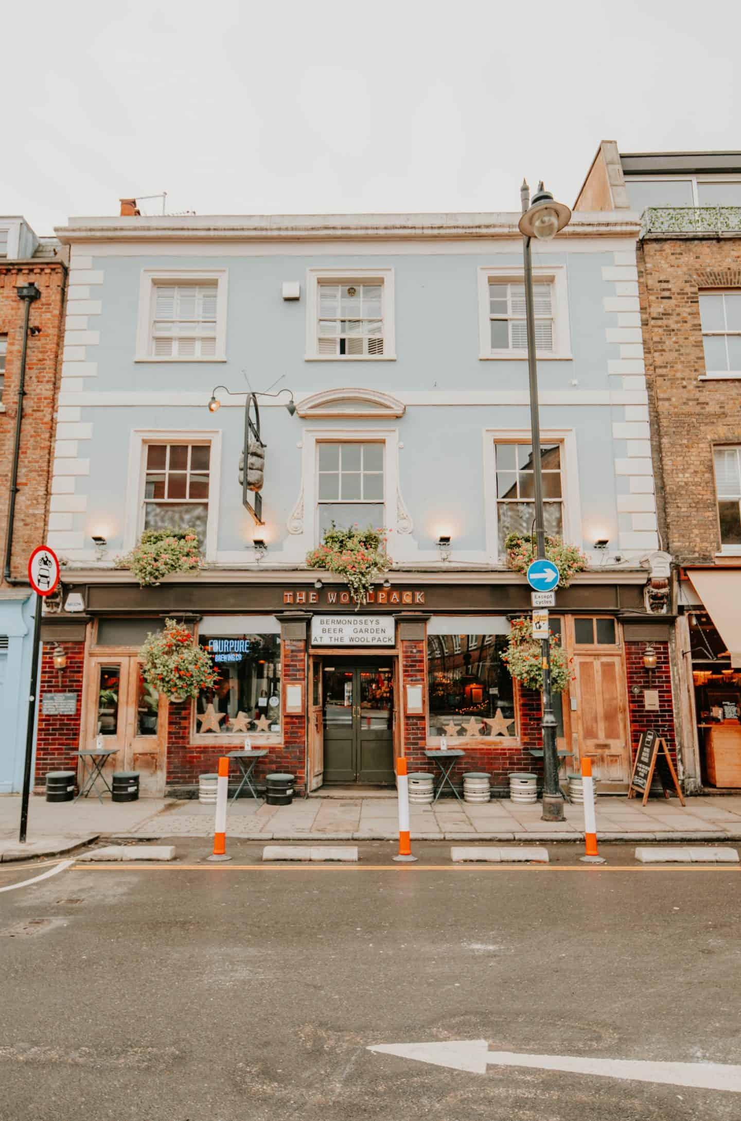 Pub on Bermondsey Street