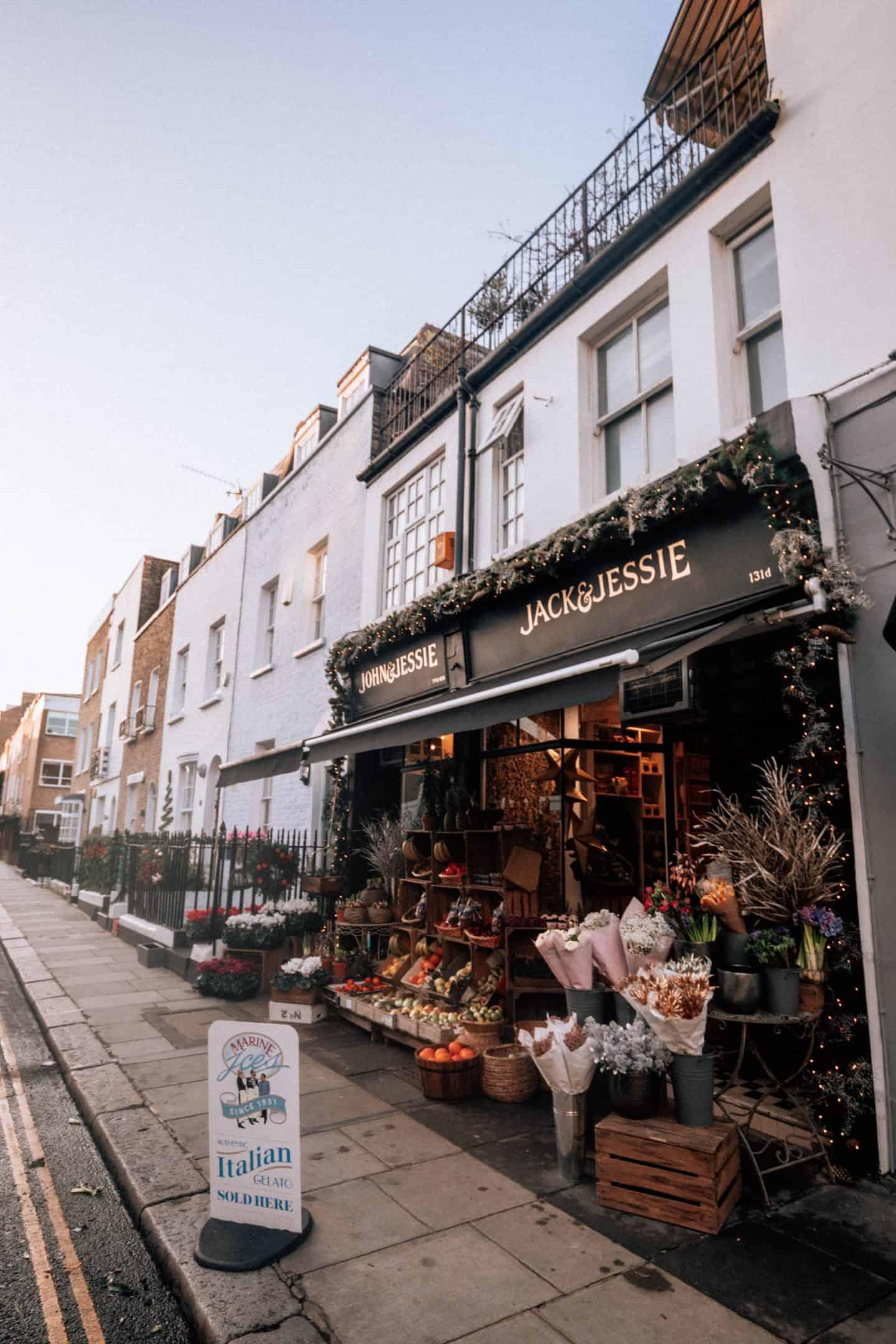 Boutique Shops in London