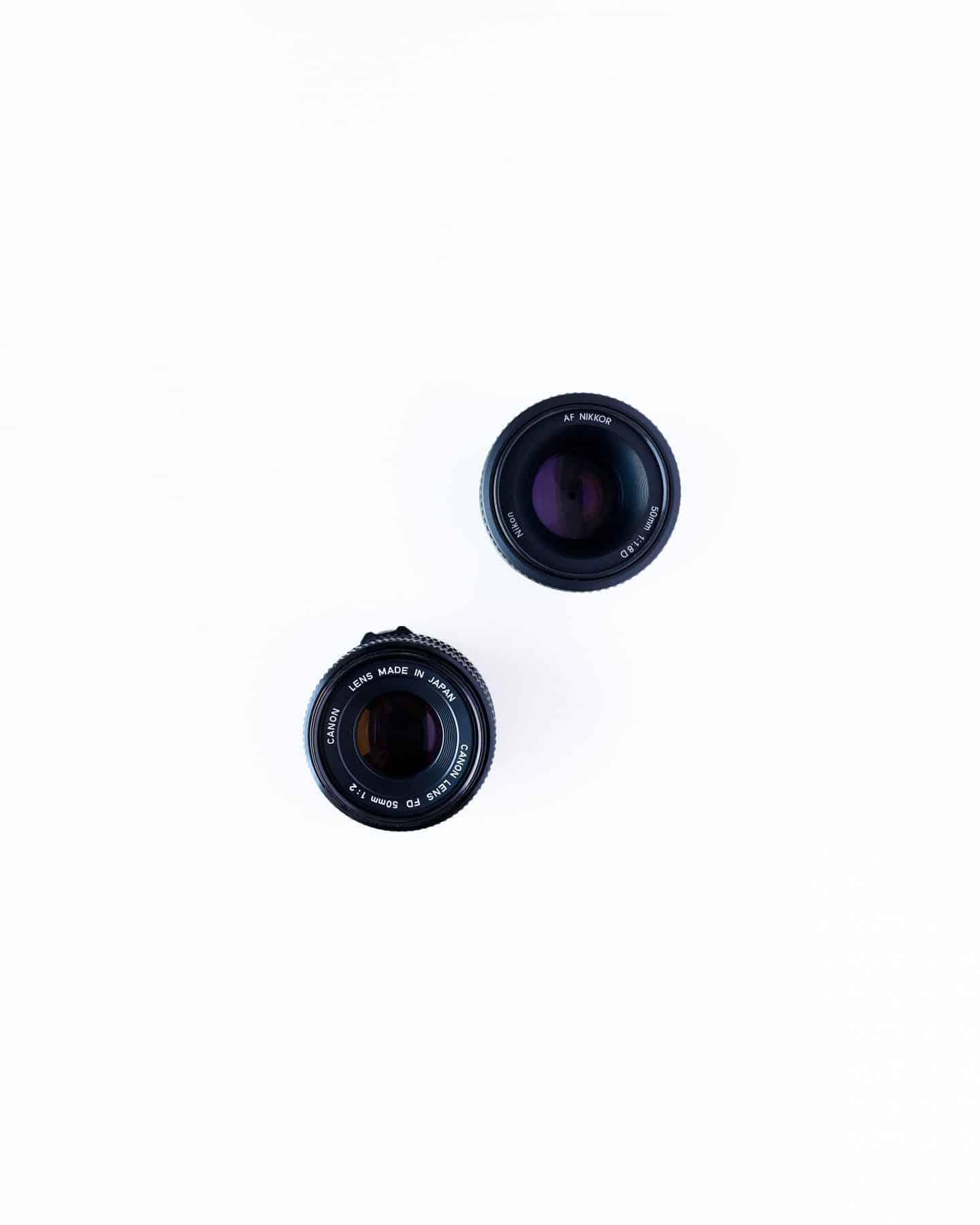 blogger camera lens