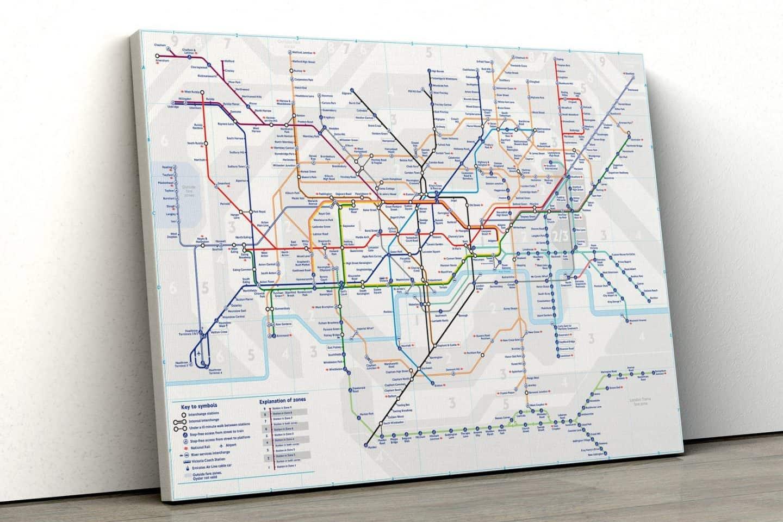 London-Underground-Map-Wall-Art