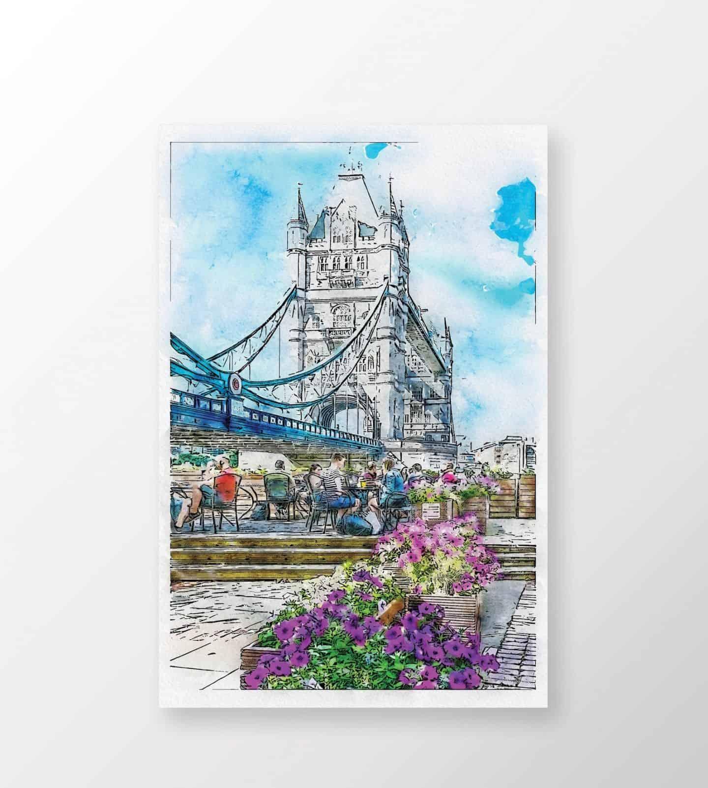 Tower-Bridge-Watercolor-Wall-Art