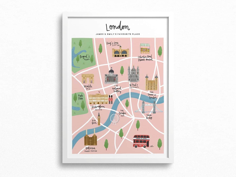Personalised-London-City-Wall-Art